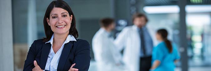 healthcare management professional