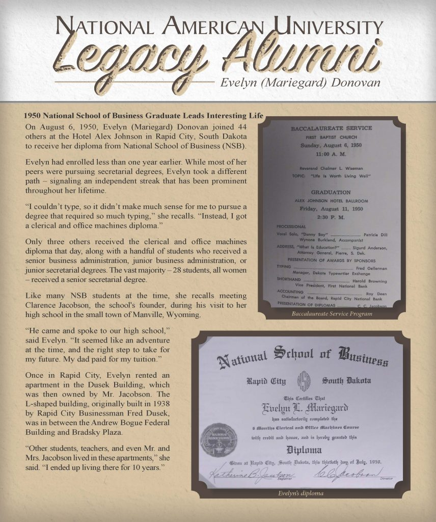 nau evelyn donovan legacy