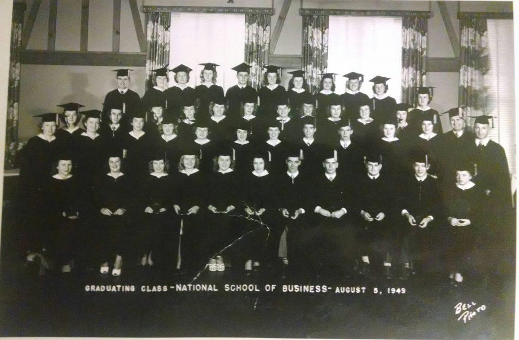 1949 nau business graduation