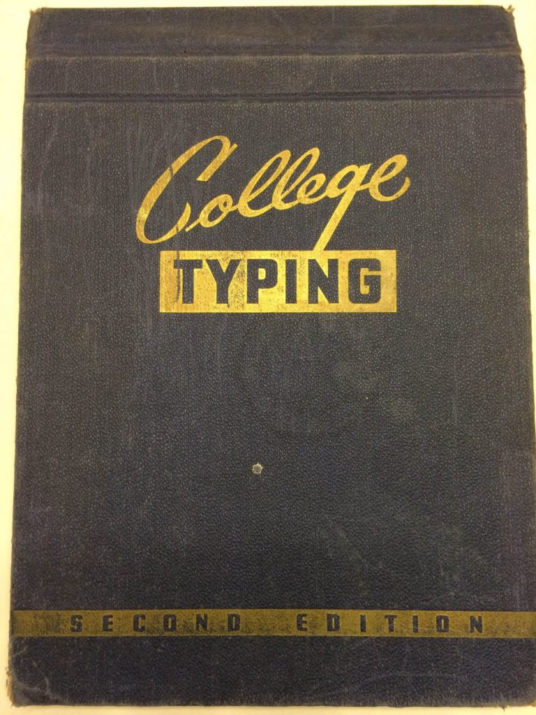 college typing book