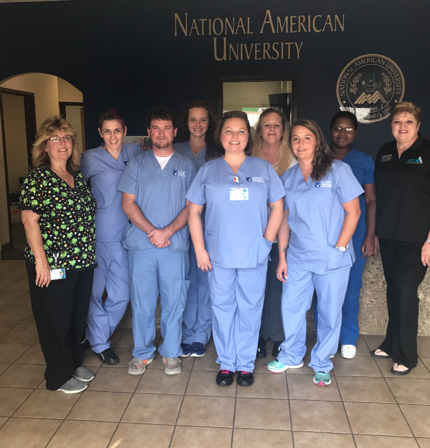 surgical technologist students