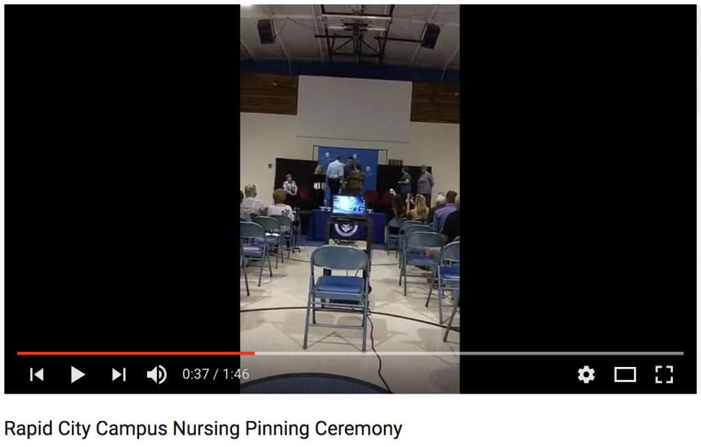 nau rapid city nursing ceremony