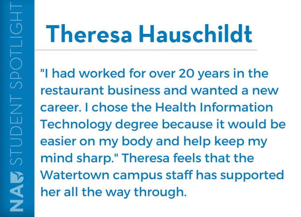 theresa hasuchildt student testimonial