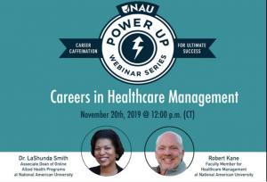 Careers in Healthcare Management Webinar