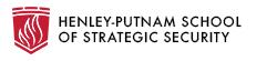 Henley-Putnam School of Strategic Security