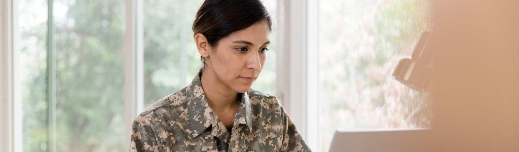 veteran online student