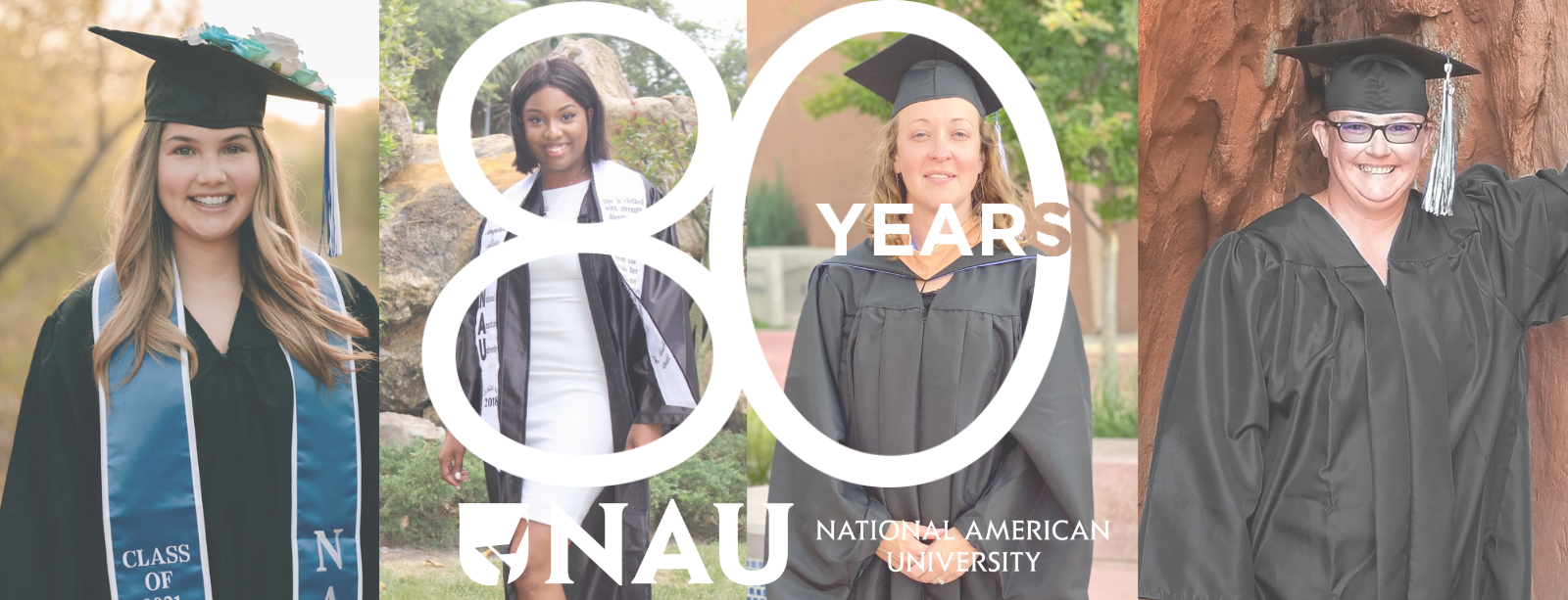 NAU 80-year Anniversary Alumni Collage Header